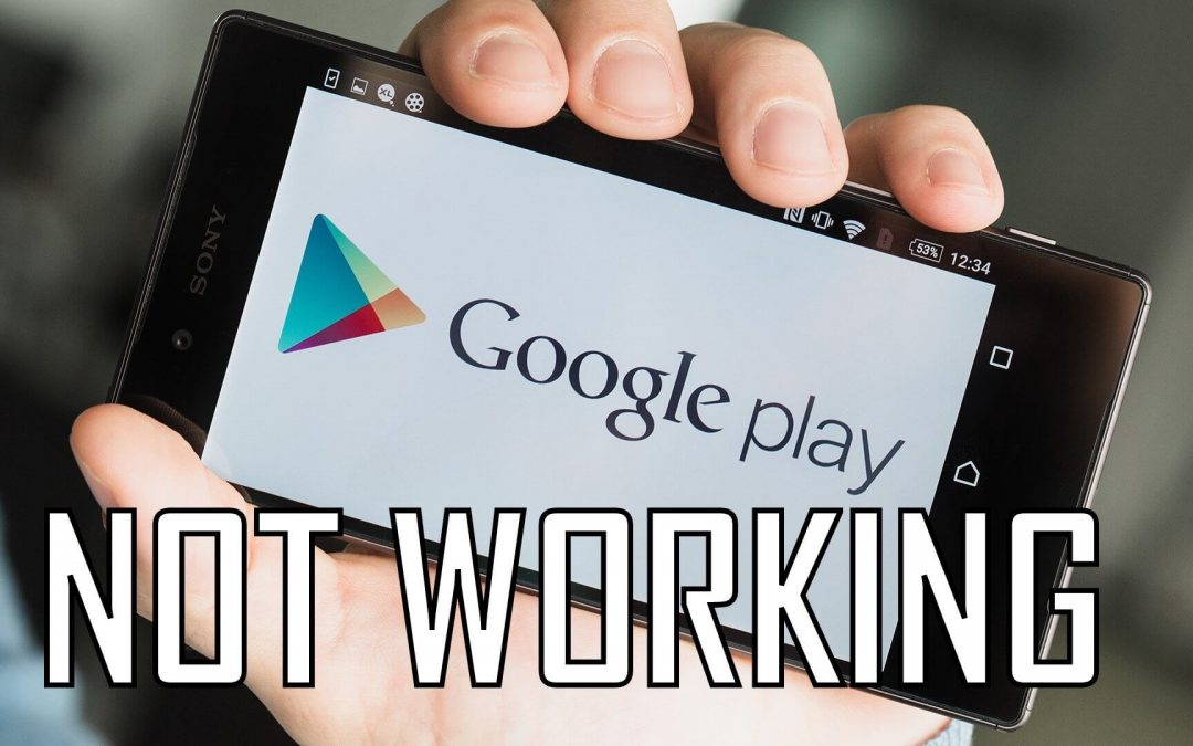 Play Store Not Working or Downloading | Working Fixes